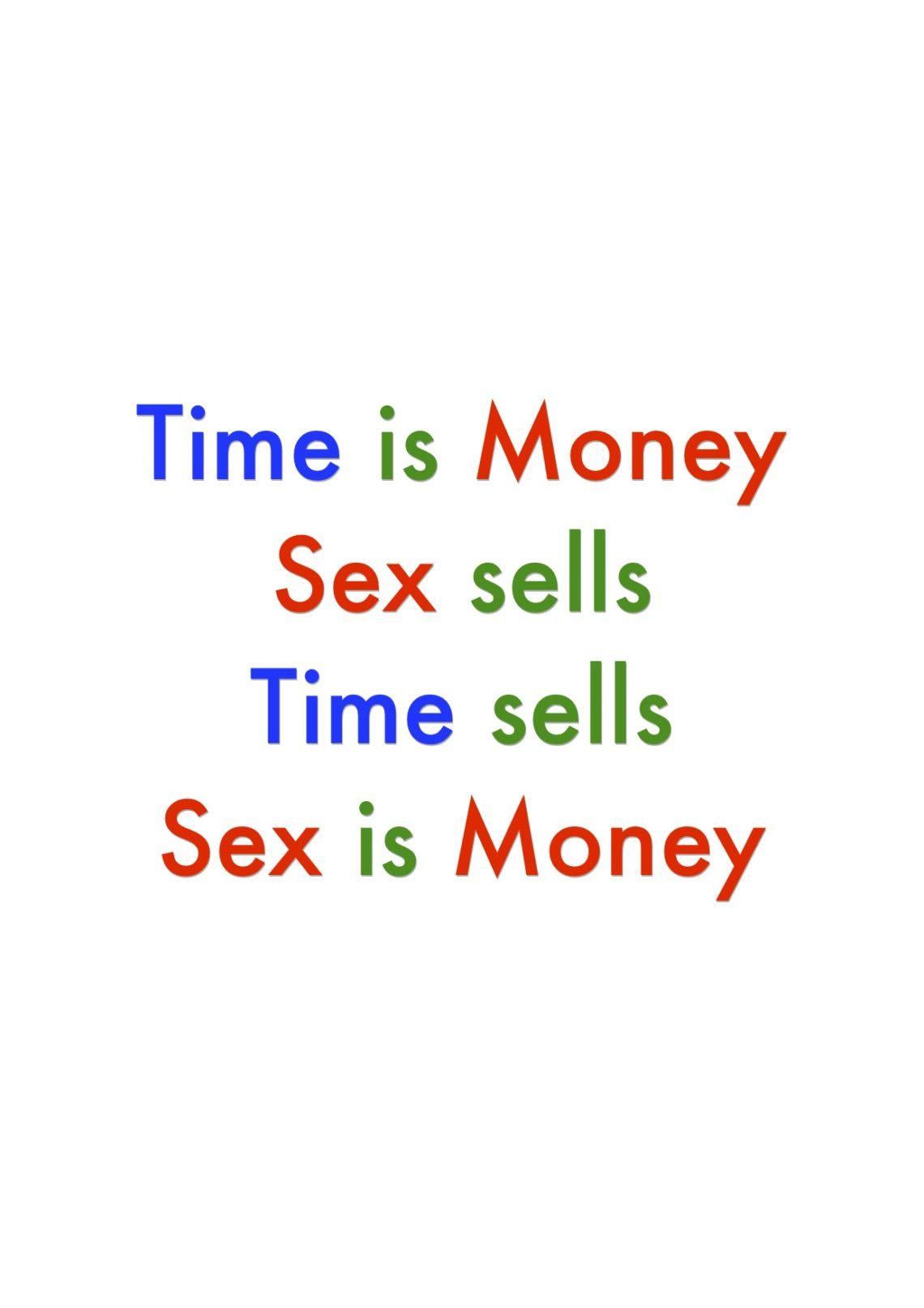 """Projekt """"Sex is Money"""" von Elias Kirsche"""